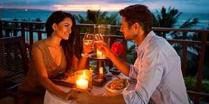 Enjoy a romantic meal